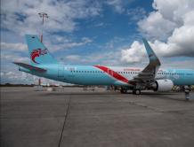长龙航空A321新飞机8月20日首航杭州至北京、广州