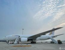 意大利AlisCargo航空全球首飞降落济南国际机场